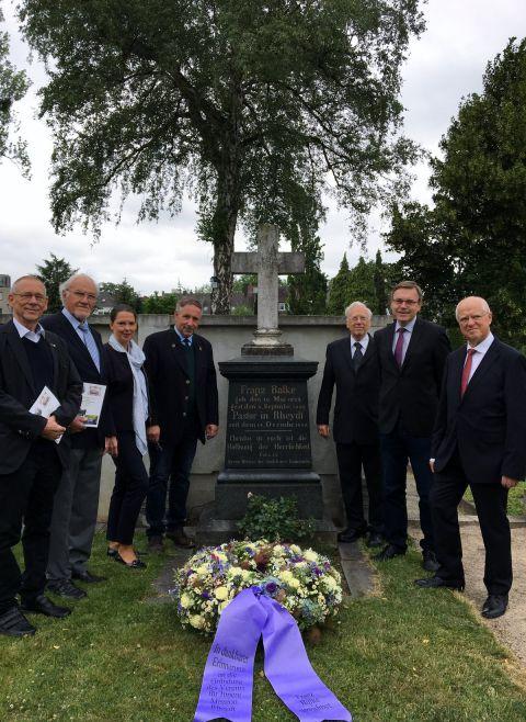 Hans-Ulrich Rosocha, Wolfgang Mika, Beate Wittland, Olaf Nöller, Wolfgang Löhr, Dietrich Denker und Jürgen Theißen.